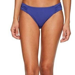 NWT Tommy Bahama Pearl Blue Shirred Swim Bottom